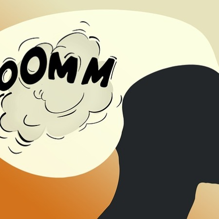 Human sounds, such as boom