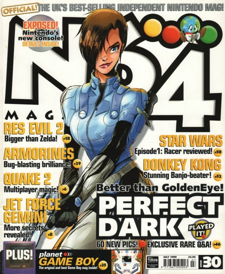 N64 Magazine - Perfect Dark issue