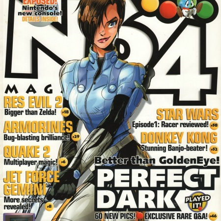 N64 Magazine - Perfect Dark issue