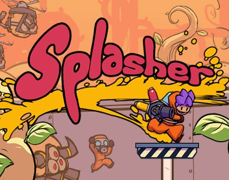 Splasher game