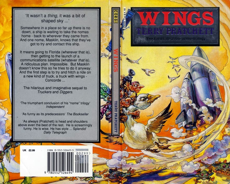 Book of da Week: Wings by Terry Pratchett