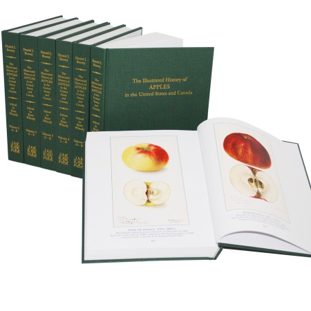 The Illustrated History of Apples in the United States and Canada by Daniel J. Bussey