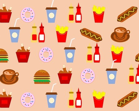 Hot dogs and other fast food