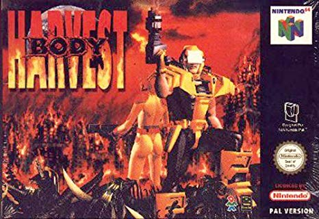 Body Harvest on the Nintendo 64