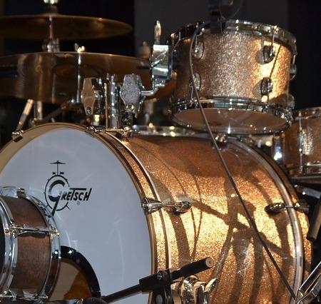 A Gretsch drum kit
