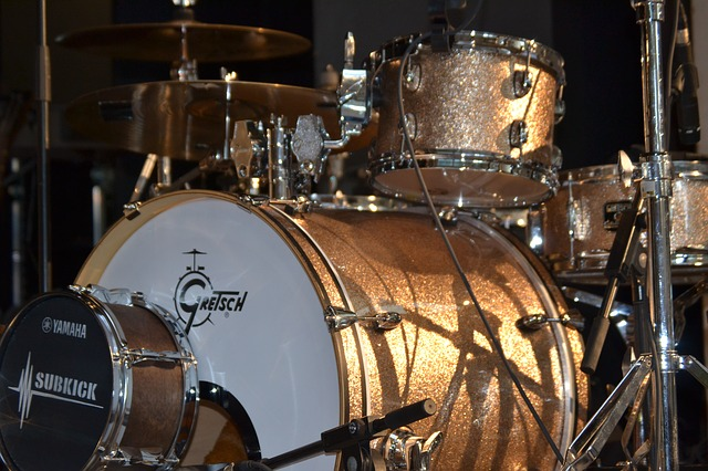 A Gretsch drum kit