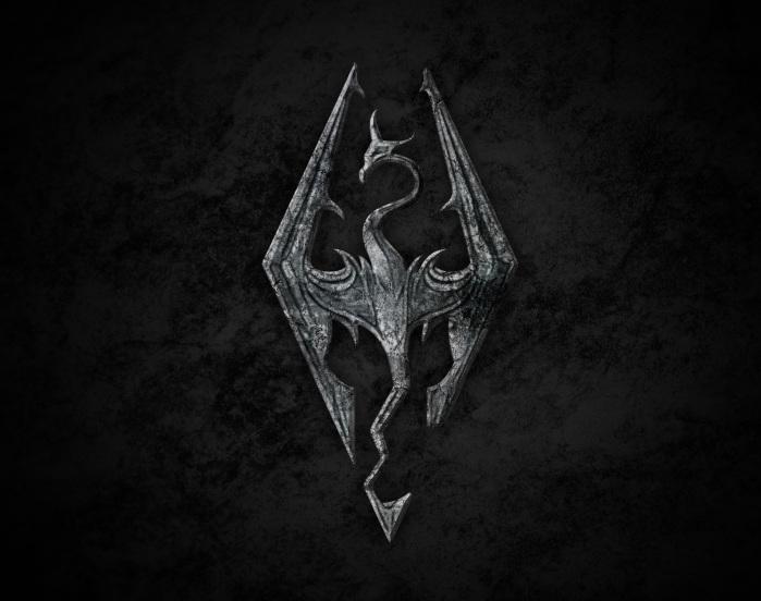Elder Scrolls V - Skyrim logo
