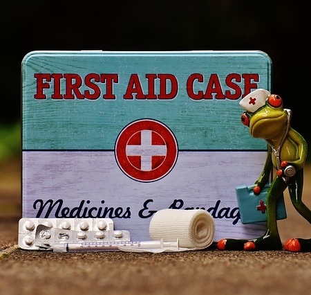 First aid it with a frog