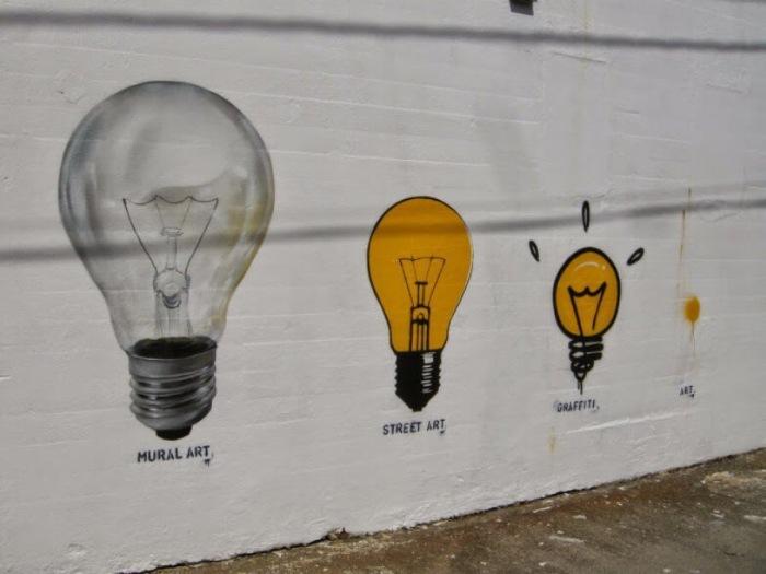 Graffiti and murals explanation by Pichiavo