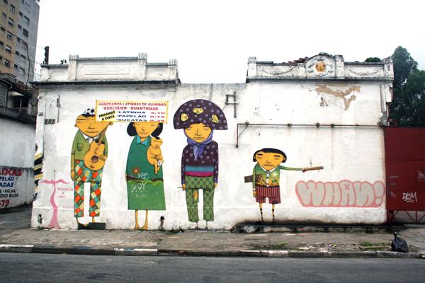 Graffiti Brasil mural