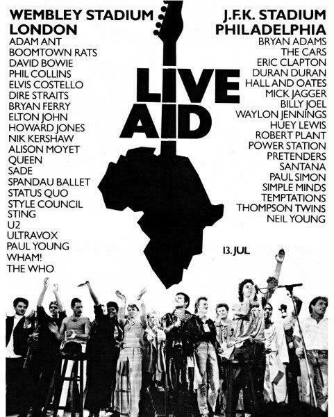 Live Aid 1985 - Philadelphia