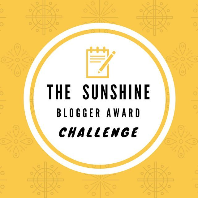 Sunshine Blogger Challenge