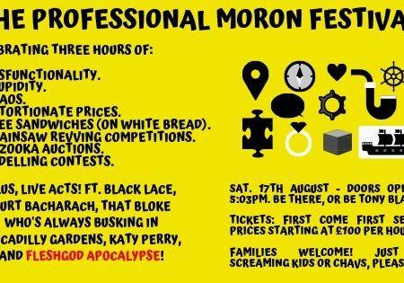 The Professional Moron Festival
