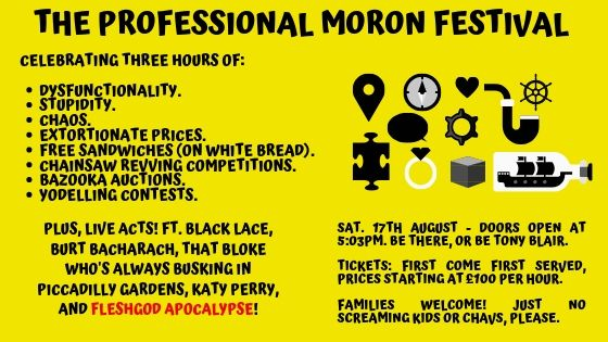 The Professional Moron Festival