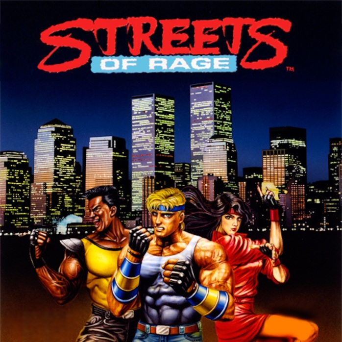 Streets of Rage on the Mega Drive