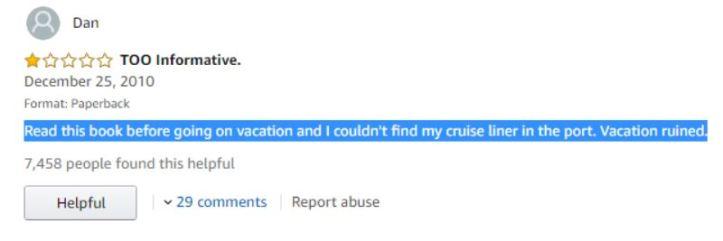 Dan - Too informative Huge Ships review