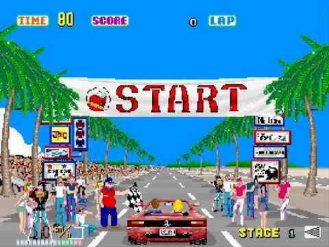 Out Run by Sega