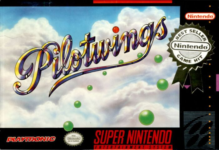 Pilotwings on the SNES