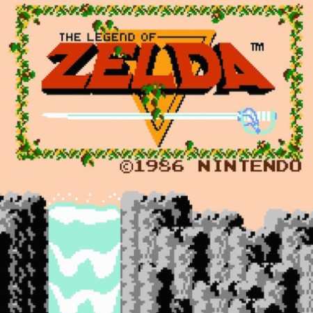 The Legend of Zelda on the NES