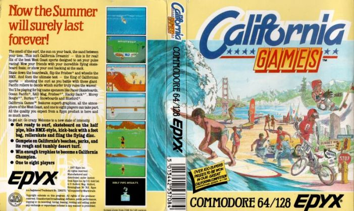 California Games on the Commoddore 64