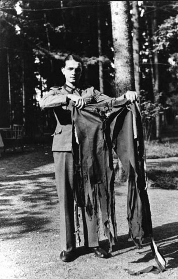 Hitler's trousers after 20th July plot
