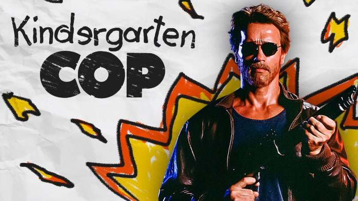 Kindergarten Cop with Arnold Schwarzenegger