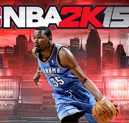 NBA 2K15 basketball player