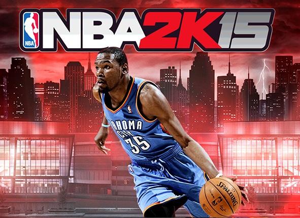 NBA 2K15 basketball player