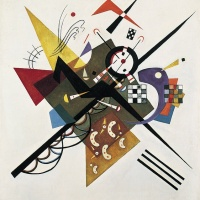 On White II: Wassily Kandinsky & Synesthesia (hearing colours)