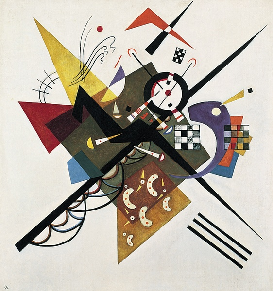 On White II by Vassily Kandinsky