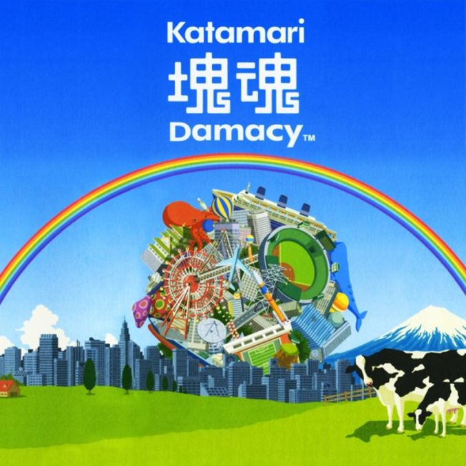 Katamari Damacy on the PlayStation 2