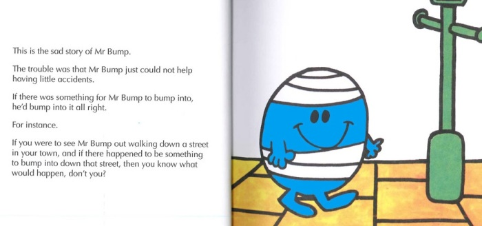 Mr. Bump book extract