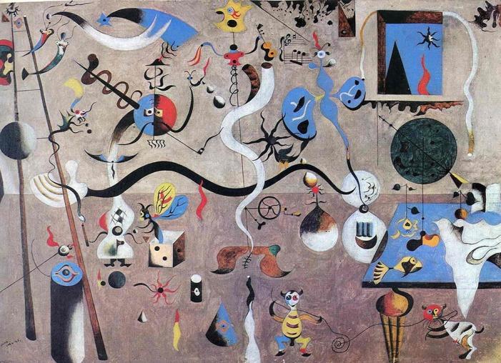 The Harlequin's Carnival - Joan Miró - 1924
