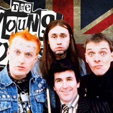 The Young Ones with Rik, Vyvyan, Neil, and Mike