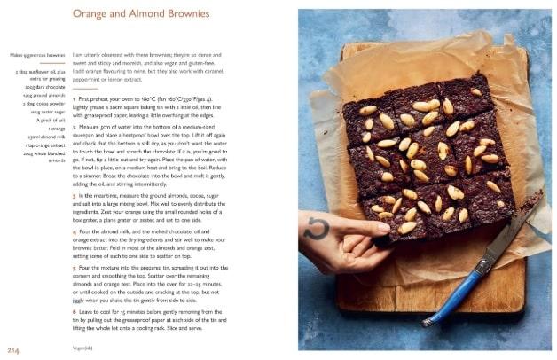 Jack Monroe's orange and almond brownies recipe