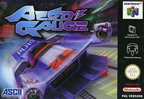 Aero Gauge on the N64