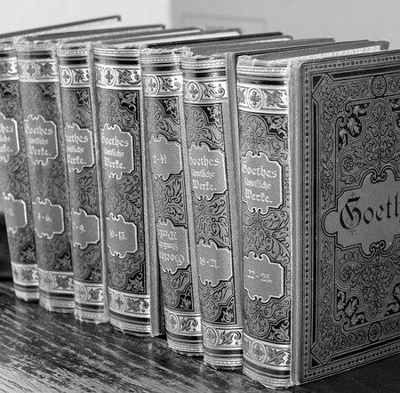 A line of novels by Goethe