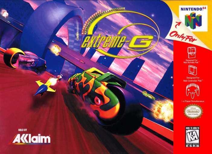 Extreme-G for the Nintendo 64
