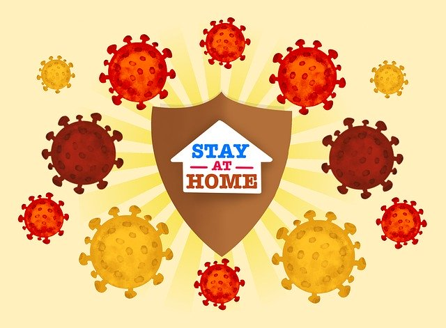 Stay at home in self-isolation for coronavirus