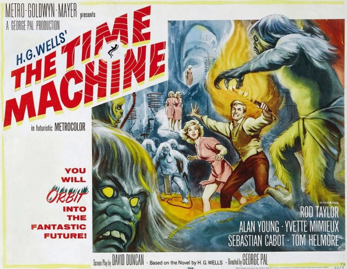 The TIme Machine - You will orbit into the fantastic future