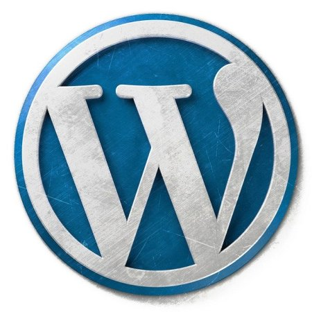 WordPress blogging logo