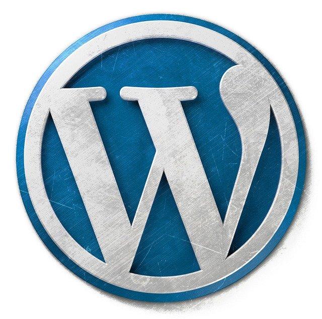 WordPress blogging logo