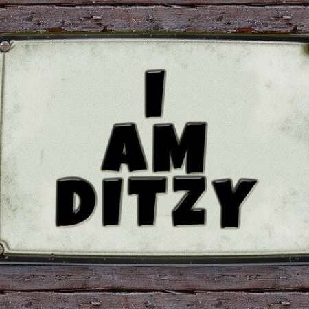 I am ditzy
