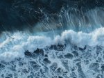 A wave of spume
