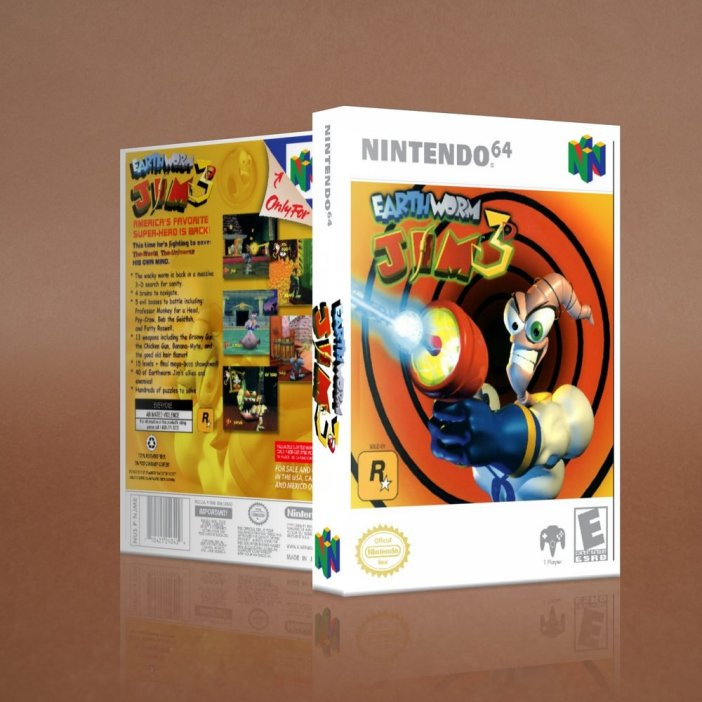 Earthworm Jim 3D on the Nintendo 64