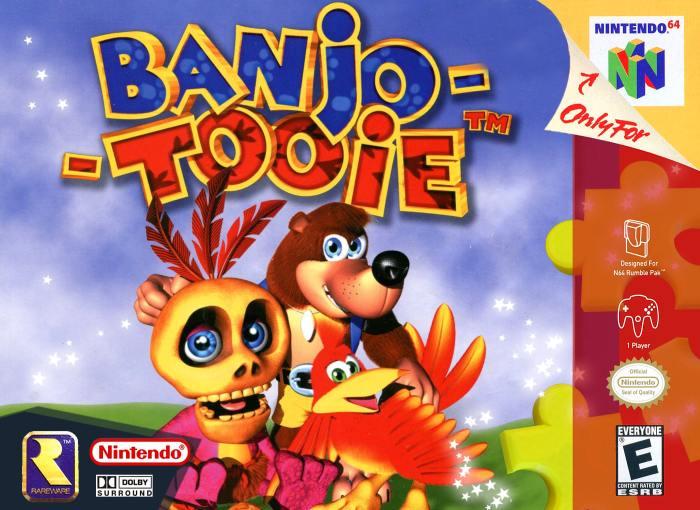 Banjo-Tooie N64 box