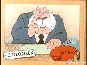 Colonel K from Danger Mouse