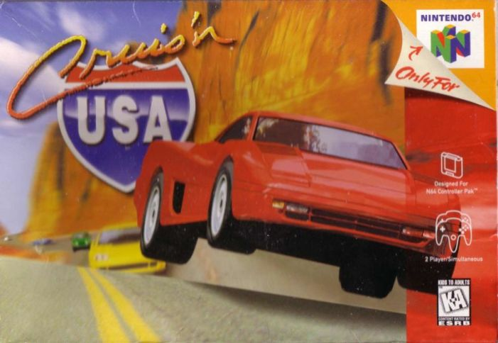 Cruis'n USA on the Nintendo 64