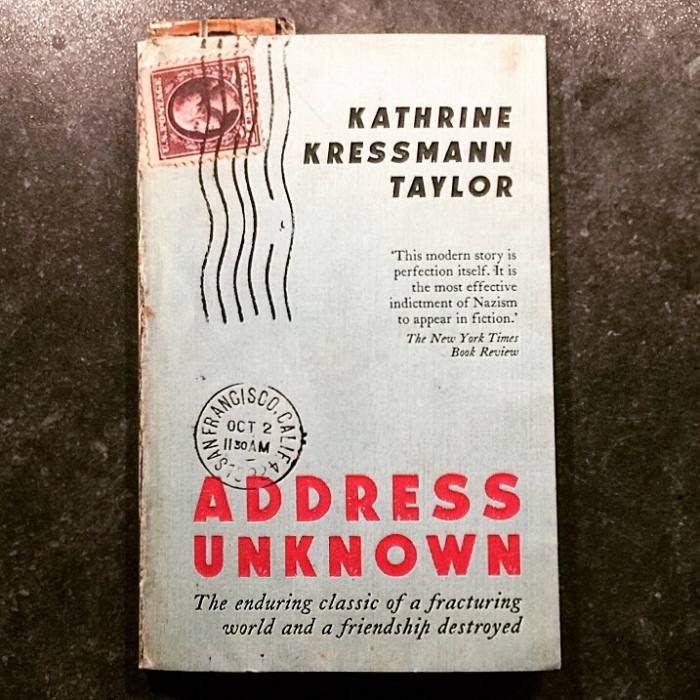 Address Unknown by Kathrine Kressman Taylor