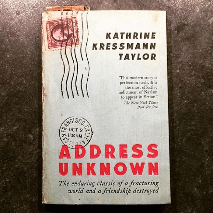 Address Unknown by Kathrine Kressman Taylor